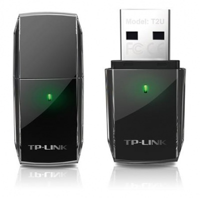"USB WiFi adapter, dual band, 600 (433+150) Mbps, TP-LINK ""Archer T2U"""